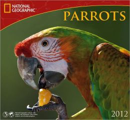 2012 Parrots - National Geographic Wall Calendar