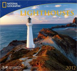 2012 Lighthouses - National Geographic Wall Calendar