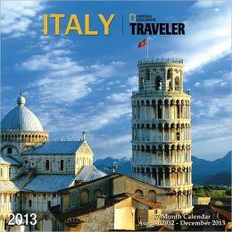 2013 NGS Traveler Italy Wall Calendar