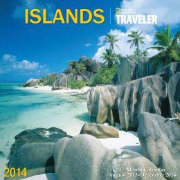 2014 Traveler - Islands Wall Calendar