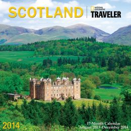 2014 Traveler - Scotland Wall Calendar
