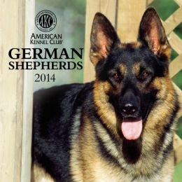 2014 AKC German Shepherds Wall Calendar