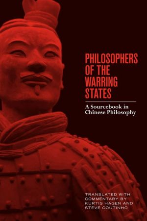 Book Philosophers of the Warring States: A Sourcebook in Chinese Philosophy