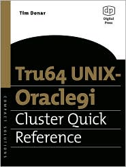 Tru64 UNIX-Oracle9i Cluster Quick Reference