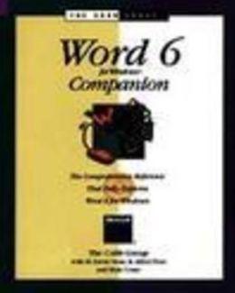 Word 6 for Windows Companion