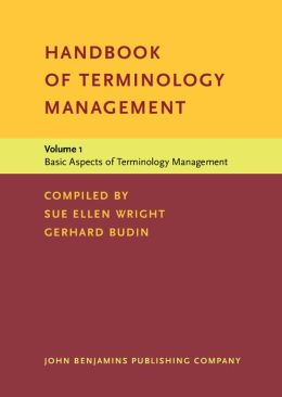 Basic Aspects of Terminology Management