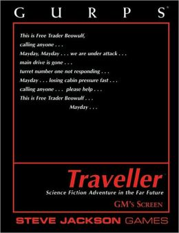 GURPS Traveller: Gm Screen Steve Jackson Games