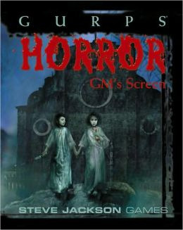 Gurps Horror Gms Screen