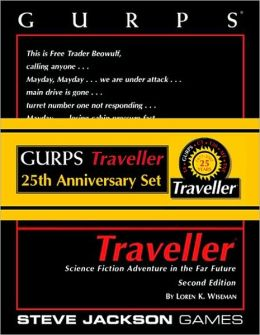 Gurps Traveller 25th Anniv Set