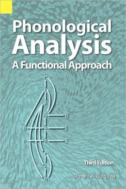 Phonological Analysis: A Functional Approach