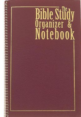 Bible study organizer notebook by barbour bargain books for Construction organizer notebook