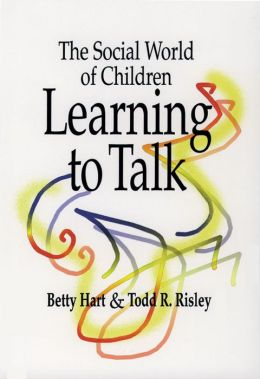 Social World of Children Learning to Talk