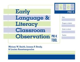 Early Language & Literacy Classroom Observation: ELLCO Pre-K Tool (package of 5)