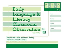 Early Language and Literacy Classroom Observation Tool, K-3 (ELLCO K-3) (pack of 5)