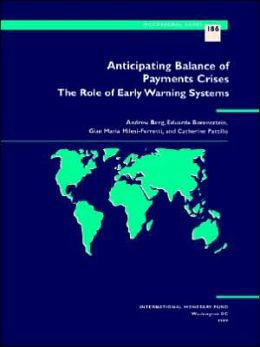 Anticipating Balance of Payments Crises: The Role of Early Warning Systems