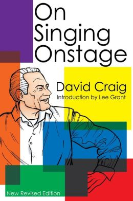 On Singing Onstage
