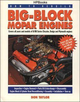 Rebuild to Rebuild Big-Block Mopar Engines HP1190
