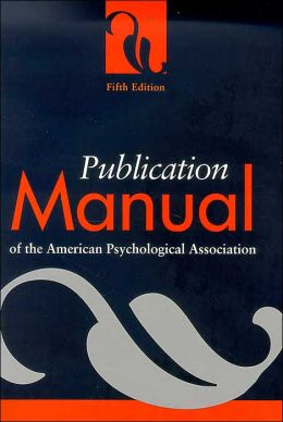Publication Manual of the American Psychological Association (Spiral Edition)