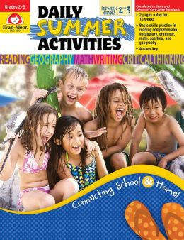 Daily Summer Activities, Moving from 2nd to 3rd Grade