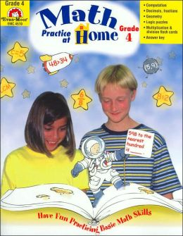 Math Practice at Home, Grade 4 (Math Practice at Homer Series)