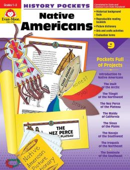 History Pockets, Native Americans, Grades 1-3