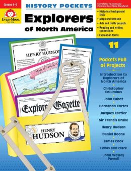 History Pockets, Explorers of North America, Grades 4-6