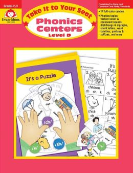 Take It to Your Seat Phonics Centers - Level D, Grades 2-3