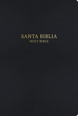 RVR 1960/KJV Bilingual Bible (Black Hardcover)