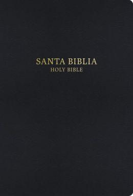 RVR 1960/KJV Bilingual Bible (Black Hardcover)