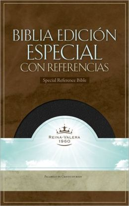 RVR 1960 Special Reference Bible (Black Bonded Leather)
