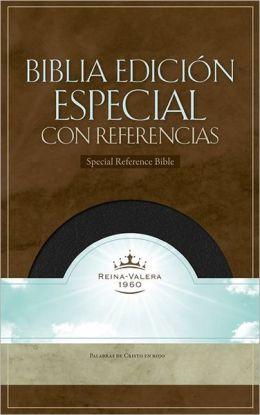 RVR 1960 Biblia con Referencias, negro piel fabricada