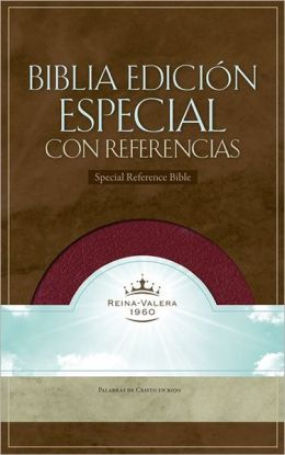 RVR 1960 Special Reference Bible (Burgundy Bonded Leather - Indexed)
