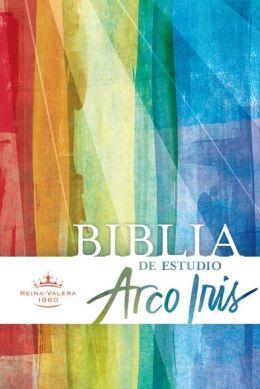 RVR 1960 Biblia de Estudio Arco Iris, tapa dura