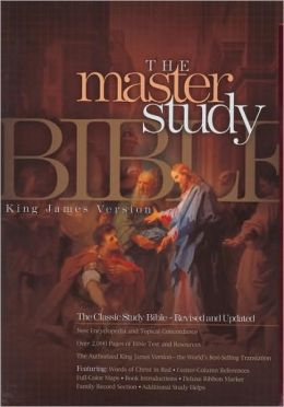 KJV Master Study Bible, Black Bonded Leather