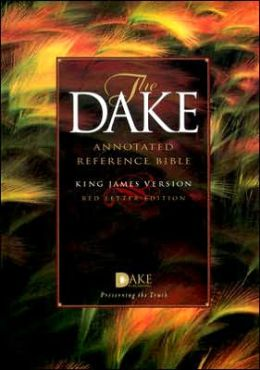 The Dake Annotated Reference Bible, King James Version (KJV) - Standard-Size, Red Letter Edition