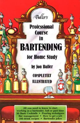 Buller's Professional Course in Bartending For Home Study