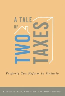A Tale of Two Taxes: Property Tax Reform in Ontario