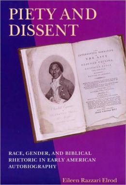 Piety & Dissent