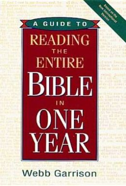 Guide to Reading the Entire Bible in One Year