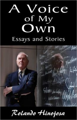 A Voice of My Own: Essays and Stories