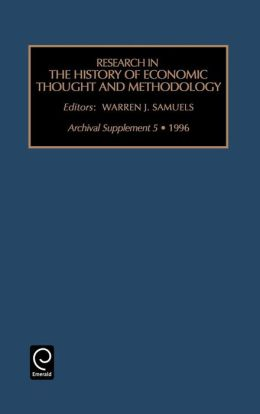 Research in the History of Economic Thought and Methodology: Archival Supplement 5