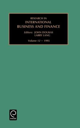 Research in International Business and Finance: Vol 12