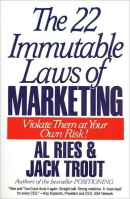 22 Immutable Laws of Mktg