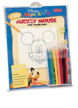 Learn to Draw Mickey Mouse Snap Pack Kit: And His Friends