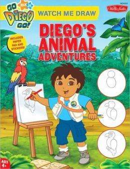Watch Me Draw Nick Jr's. Diego's Animal Adventures