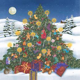 2015 Advent Christmas by Candlelight Wall Calendar