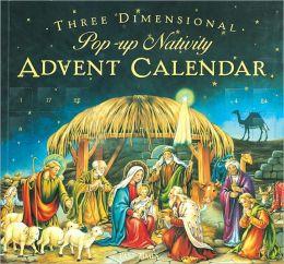 2012 Advent Nativity 3-D Pop-up Calendar