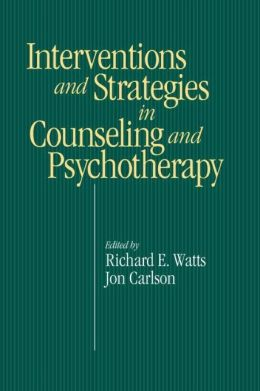 Interventions And Strategies In Counseling And Psychotherapy