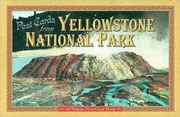 Yellowstone Post Card Book