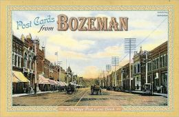 Bozeman Post Card Book